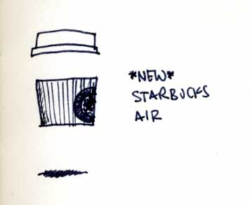 *new* Starbucks Air